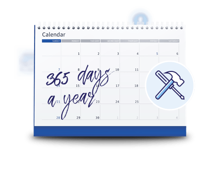 Covered 365 days a year