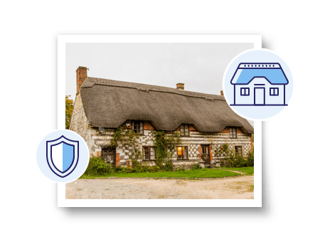 Do you need to insure a property with a thatched roof?